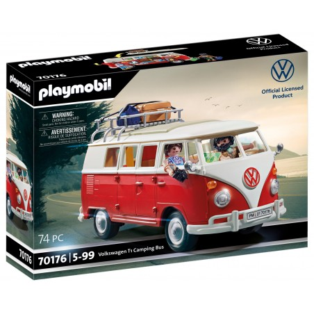 VW T1 COMBI PLAYMOBIL